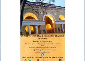 La notte nazionale del Liceo Classico