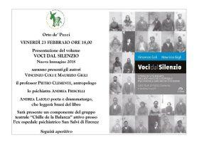 """""""Voci dal Silenzio"""" di Vincenzo Coli e Maurizio Gigli"""